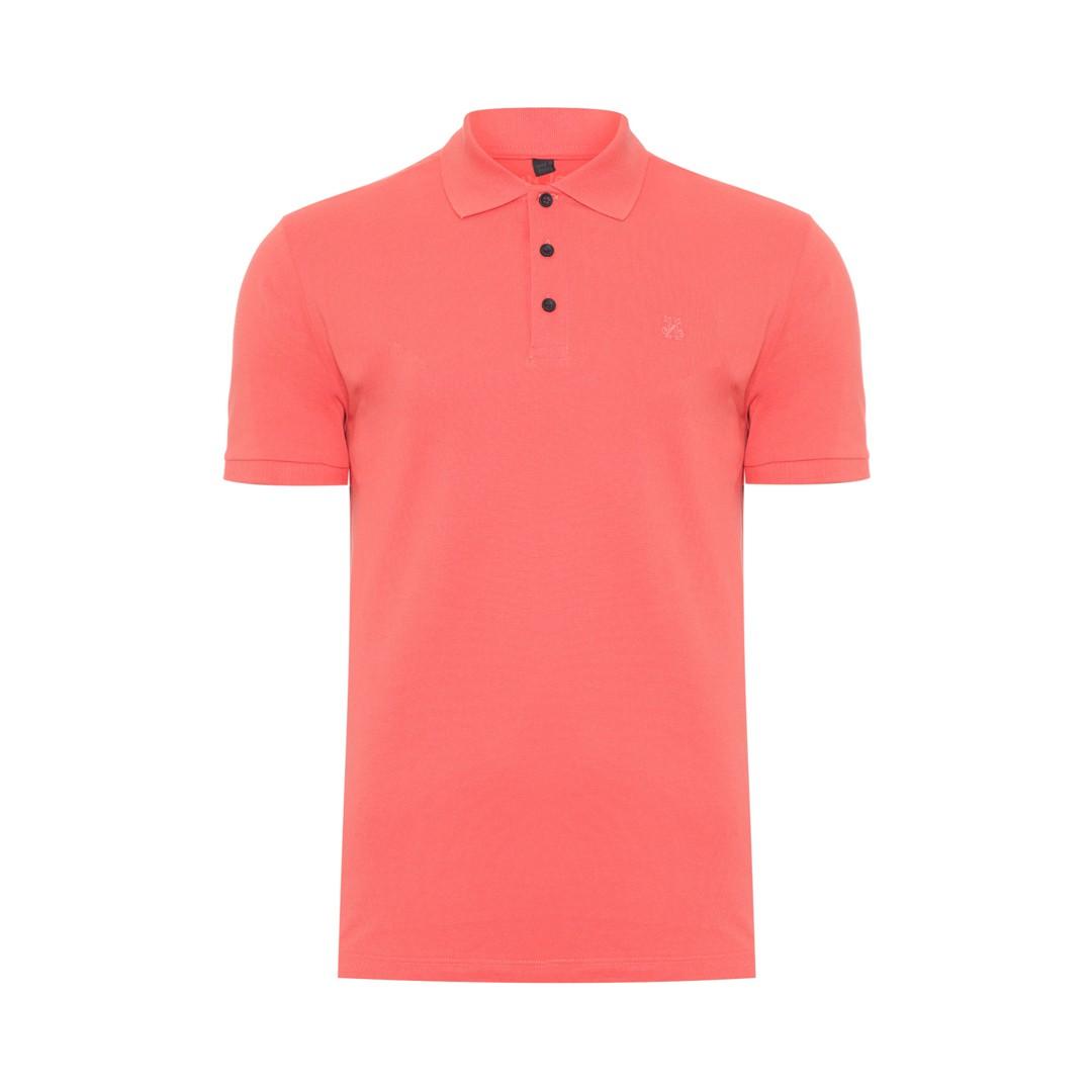 Camisa Polo John John Simple Basic Laranja