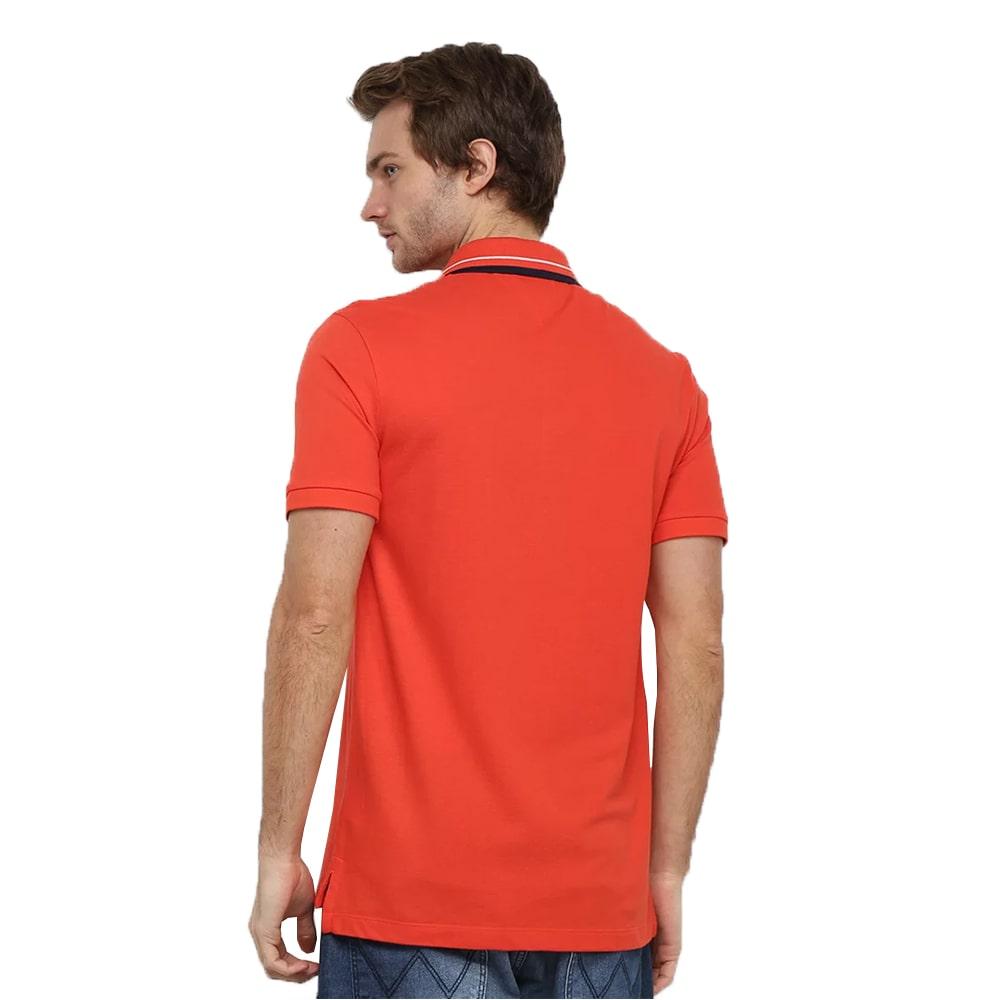 Camisa Polo Tommy Jeans Masculina Vermelho
