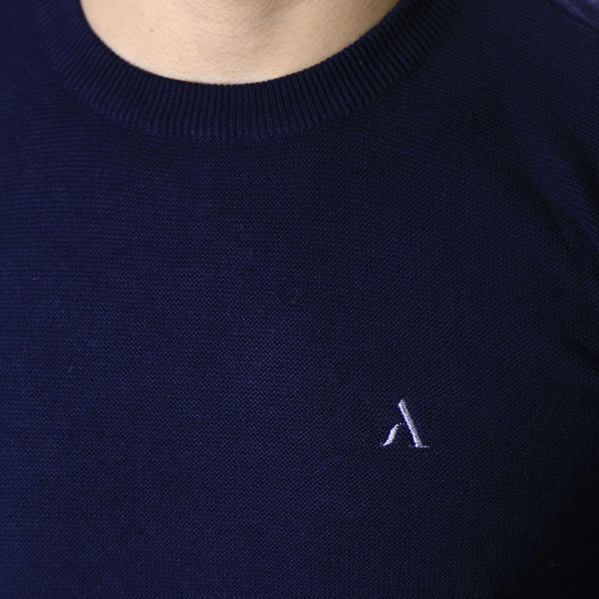 Suéter Agricio Masculino Azul