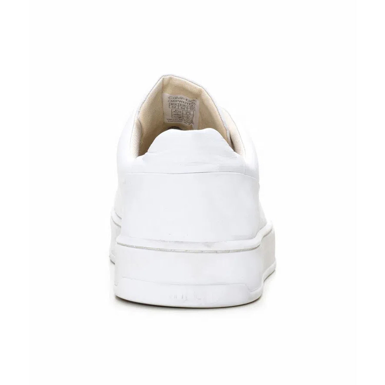 Tênis Couro Calvin Klein Branco