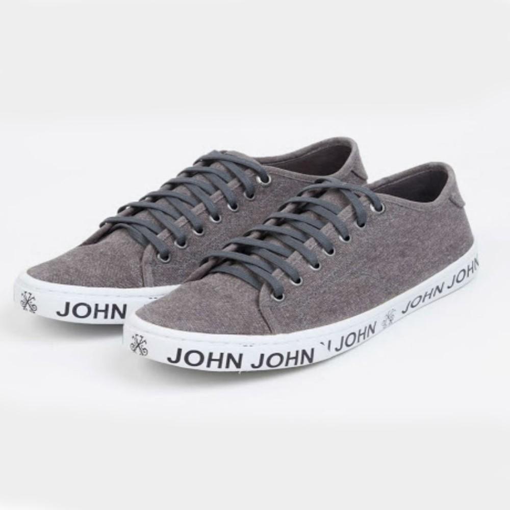 Tênis John John Vulc Cinza