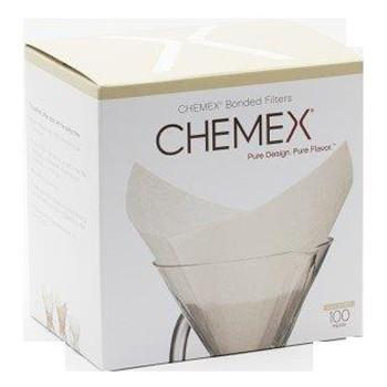 Filtro Quadrado Branco Pré-Dobrado Chemex