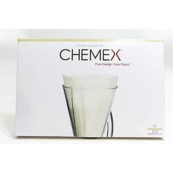 Filtros de Papel Chemex Meia Lua