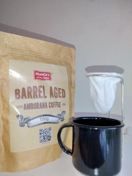 Franck's Ultra Coffee Cachaça (Amburana)