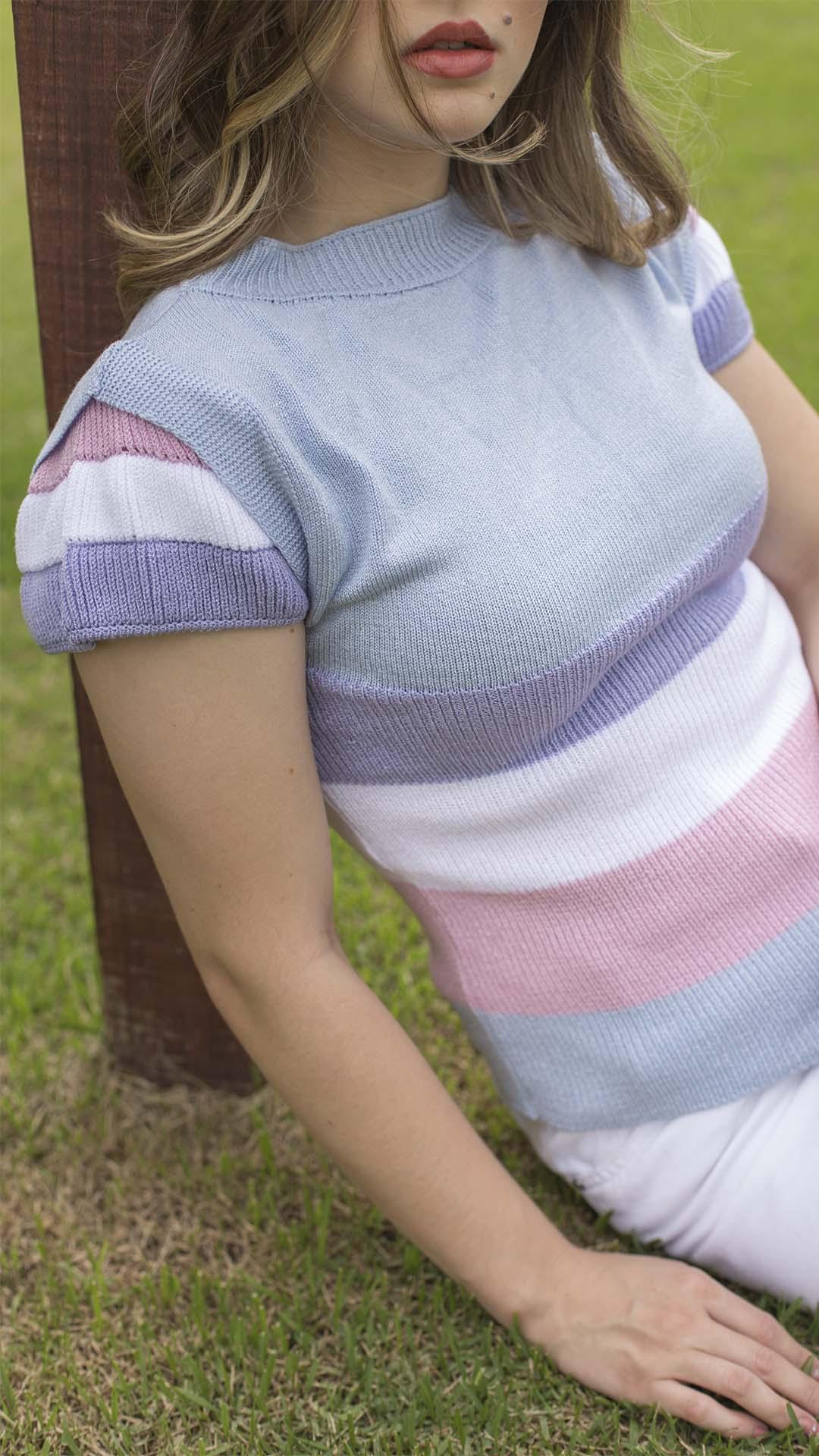 Blusa de Tricô 04 Cores