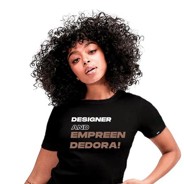 Camisa Designer And Empreendedora