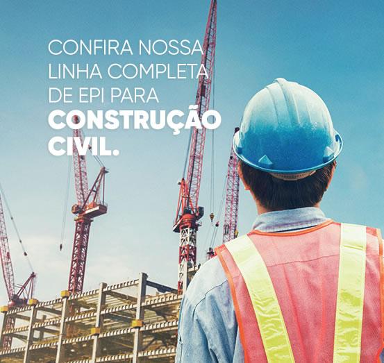 Confira nossa linha completa de EPI para construção civil