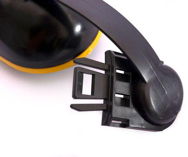 Abafador de ruído tipo concha C-200 para capacete 14db