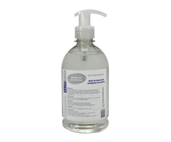 Álcool em gel antisséptico Alcomax 250ml
