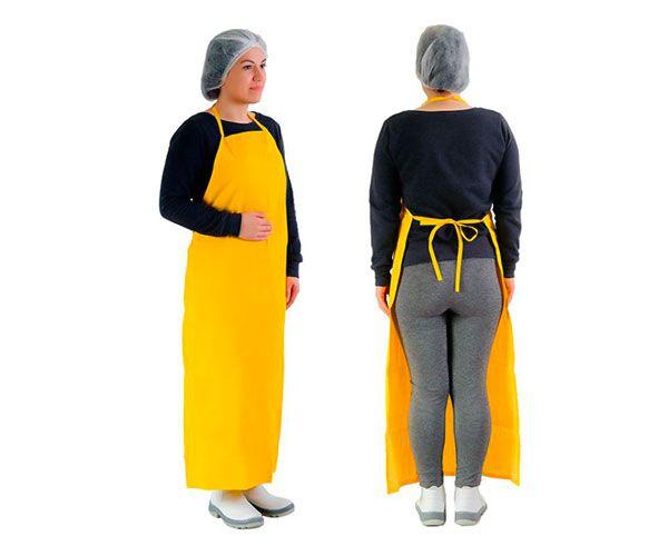 Avental napa amarelo (espessura 0,35mm)
