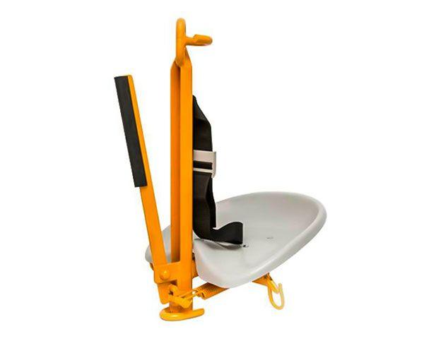 Cadeira suspensa para descida