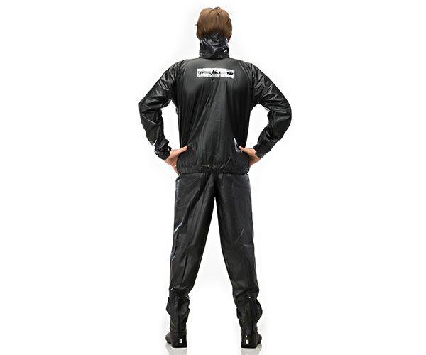 Conjunto PVC tipo motoqueiro preta