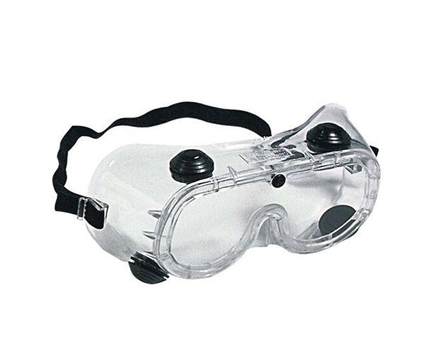 Óculos Ampla Visão incolor com válvulas antirrisco