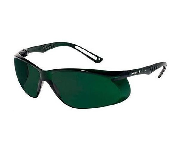 Óculos verde tonalidade 5 tipo SS5 antirrisco