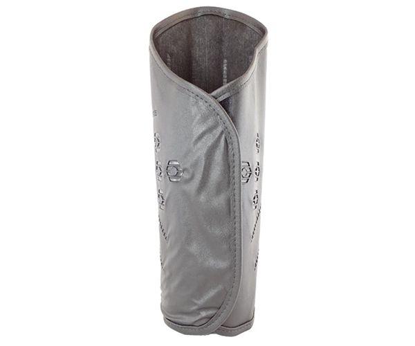 Perneira MFA 3 talas de PVC de couro sintético com velcro