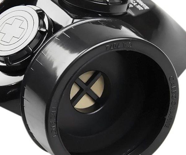 Respirador semifacial CG306 sem cartuchos