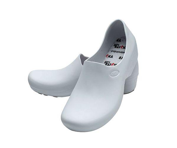 Sapato Tradicional Man masculino antiderrapante branco