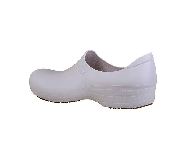 Sapato Tradicional Woman feminino antiderrapante branco