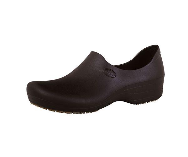 Sapato Tradicional Woman feminino antiderrapante preto