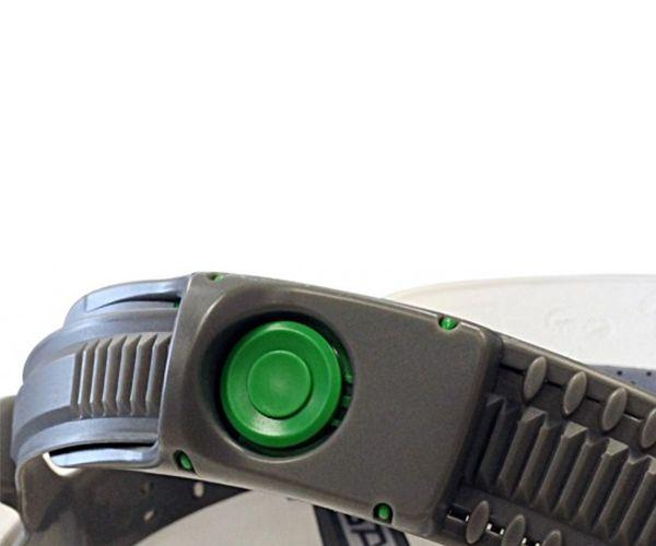 Suspensão têxtil para capacete MSA V-guard com push key e jugular