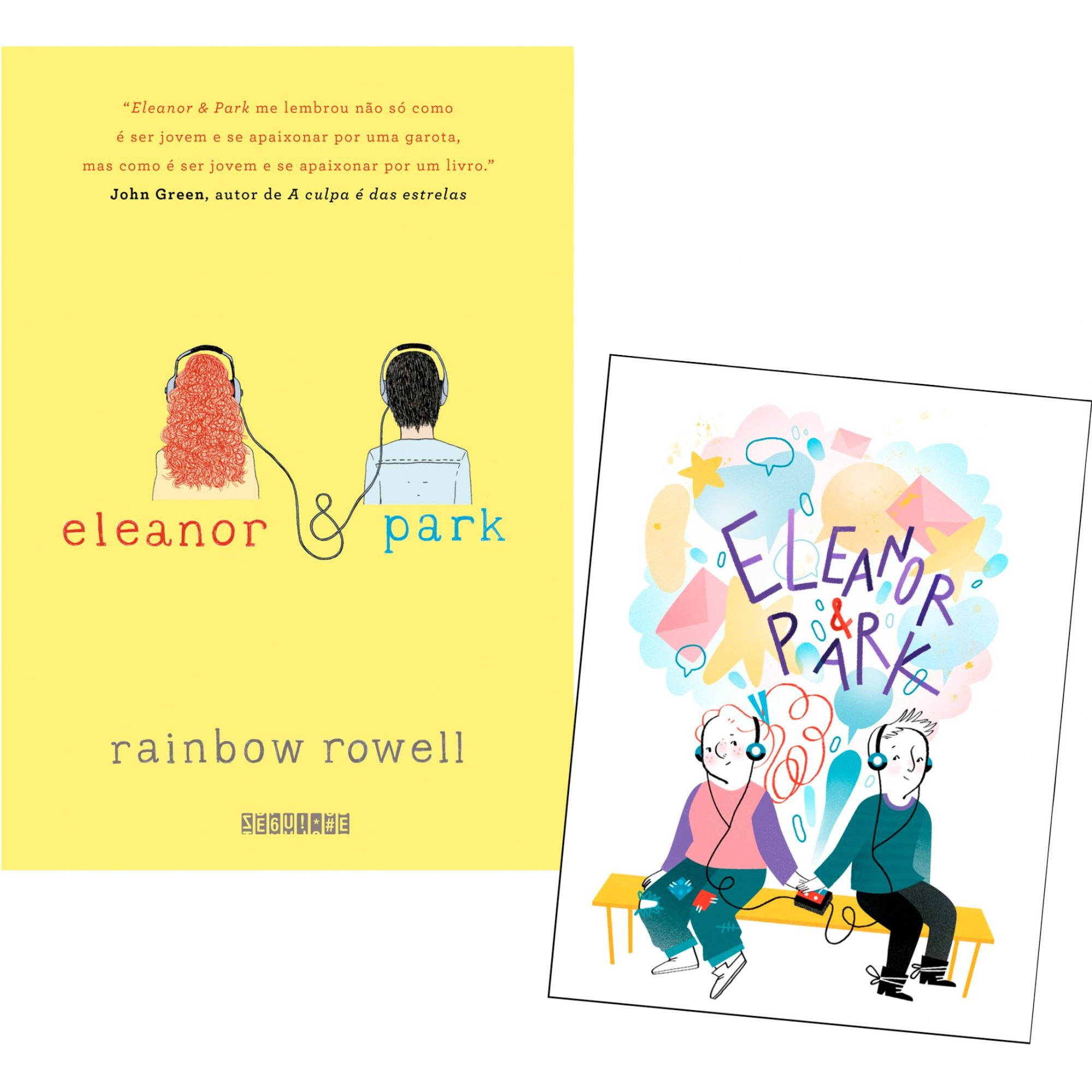 Eleanor & Park Rainbow Rowell (com brinde) Editora Seguinte