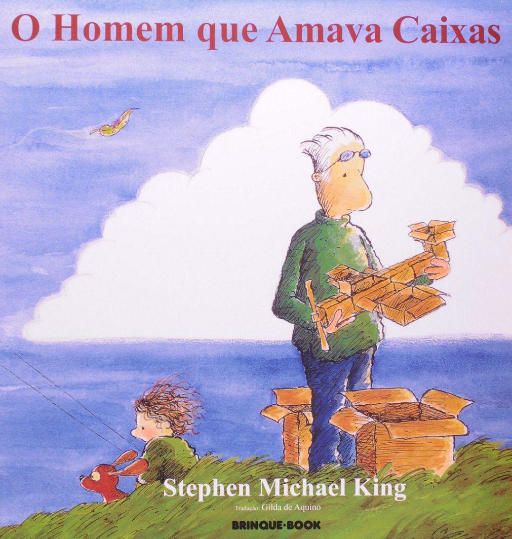 O Homem que Amava Caixas - Stephen Michael King
