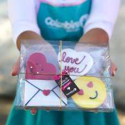 Biscoito Kit Coração Saudades