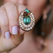 Maxi anel flor