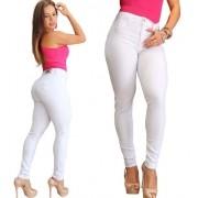 Calça Feminina Sarja Branca