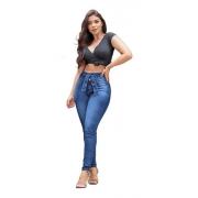 Calça Jeans Feminina Cigarrete Tendência