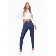 Calça Jeans Mom Feminina Azul Escuro