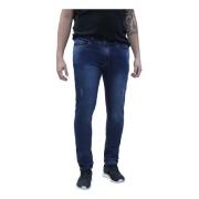 Calça Masculina Jeans Azul Marinho Skinny