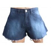 Shorts Feminino Godê Sarja Azul