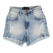 Shorts Feminino Jeans Azul Claro Funk