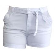Shorts Feminino Sarja Branco