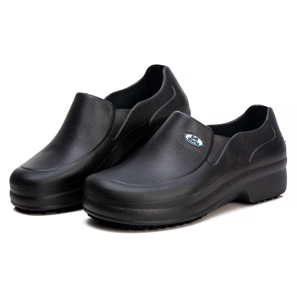 Sapato Profissional Soft Works Antiderrapante Com CA - Preto BB65