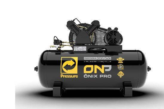 Compressor de Ar 15pcm/175L 3cv 140psi Monofásico ONIX PRO 15/175V - PRESSURE