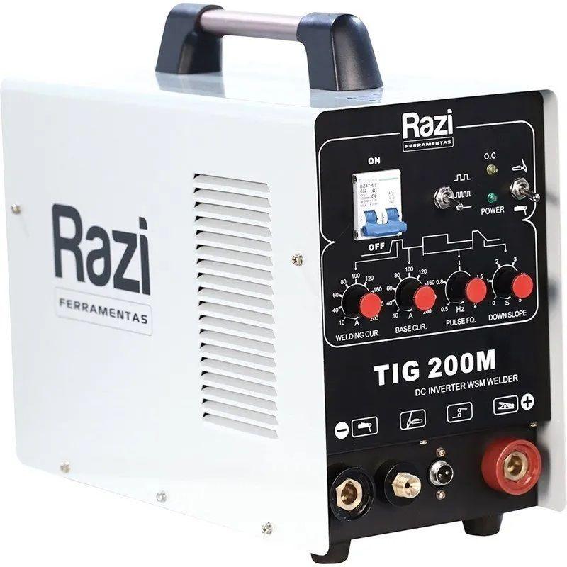 DC Inverter Wsm Welder 220V 200A - Razi