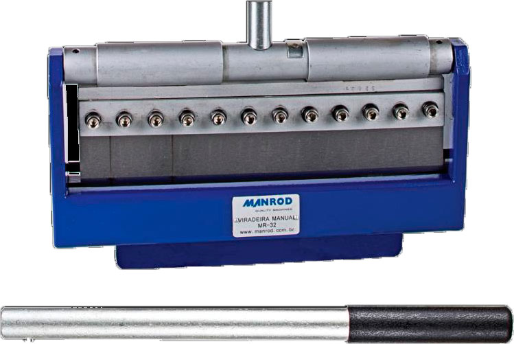 Dobradeira Manual para Chapas Hobby 300MM MR-32 - Manrod