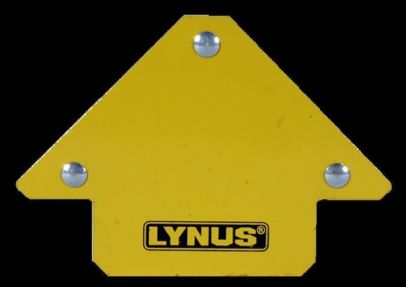 Esquadro Magnético para solda 12kg EML-12 - Lynus