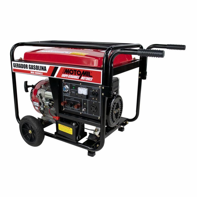 Gerador à gasolina 4T 15HP 127/220V MGG8000CLE - Motomil