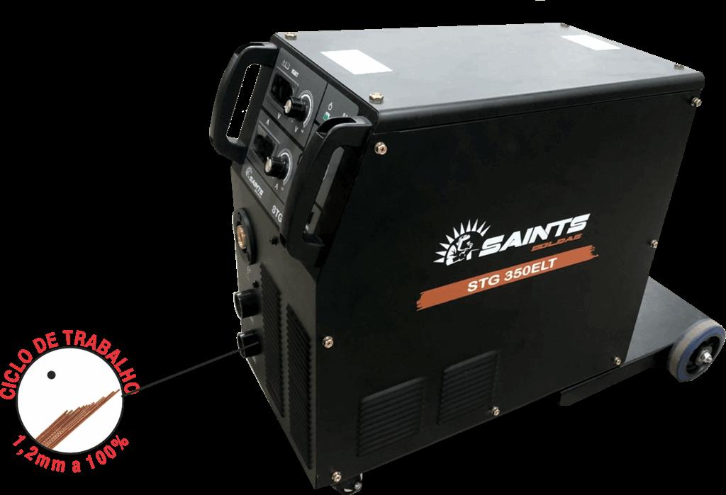 Inversor de Solda 300A 220/380V STG 350 ELT - Saints Soldas