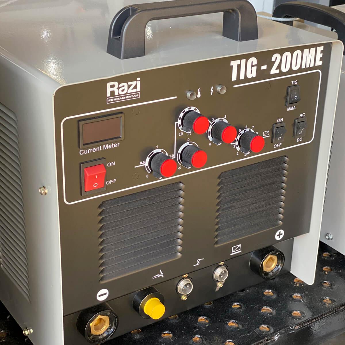Inversor de Solda TIG 220v 200A - Razi