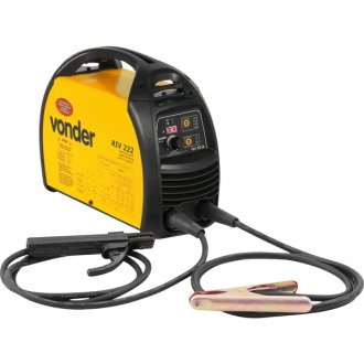 Inversor para solda elétrica com display digital 160A Bivolt RIV 222 - VONDER