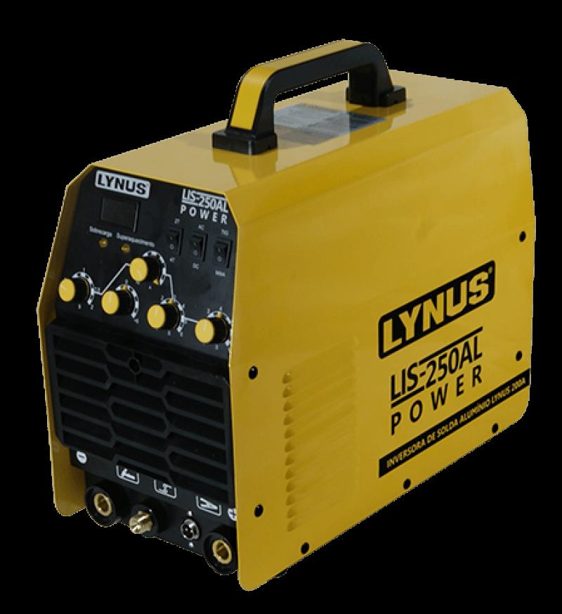 Inversora de Solda ALÚMIO 200A 220V LIS-250AL - LYNUS