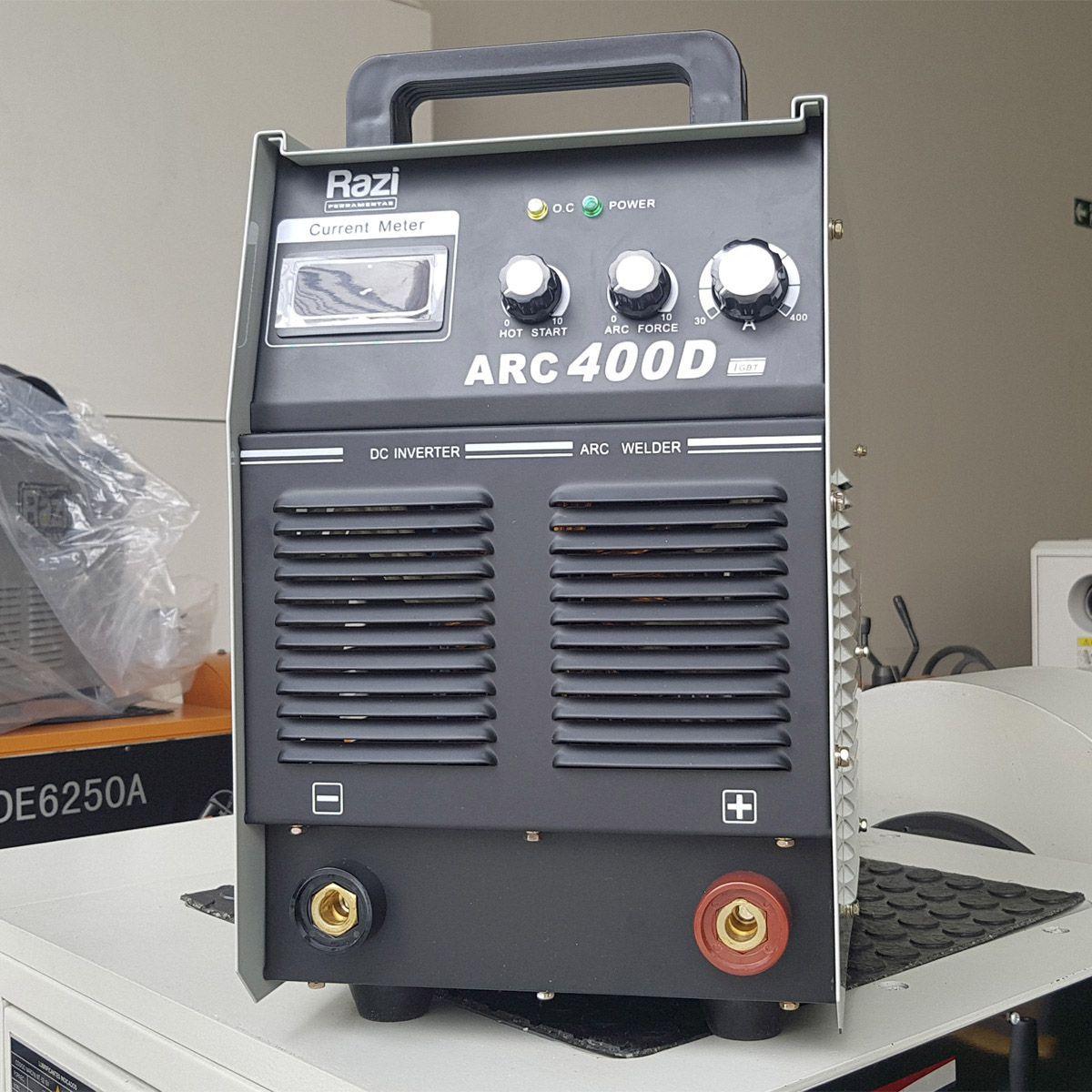 Inversora de Solda Arc400d Trifásica 220v - Razi