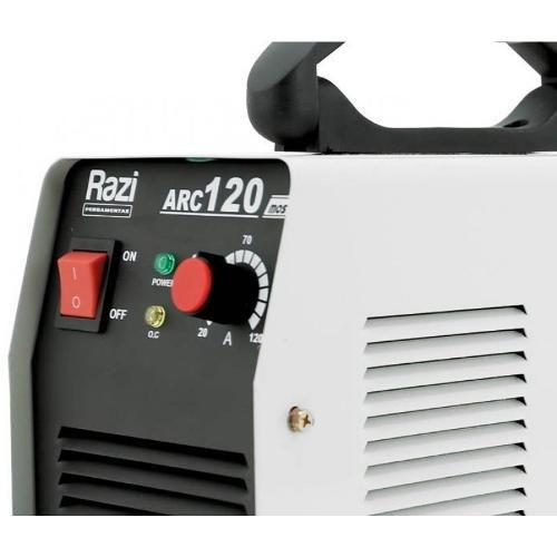 Inversora de Solda 120A ARC 120 - Razi