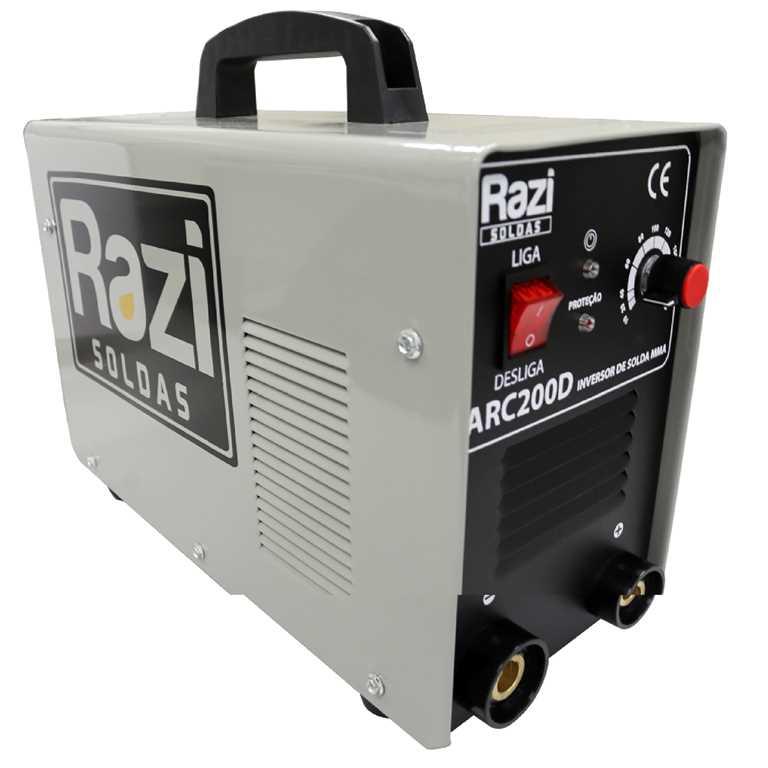 Inversora de Solda Arc 200 D Bivolt - Razi