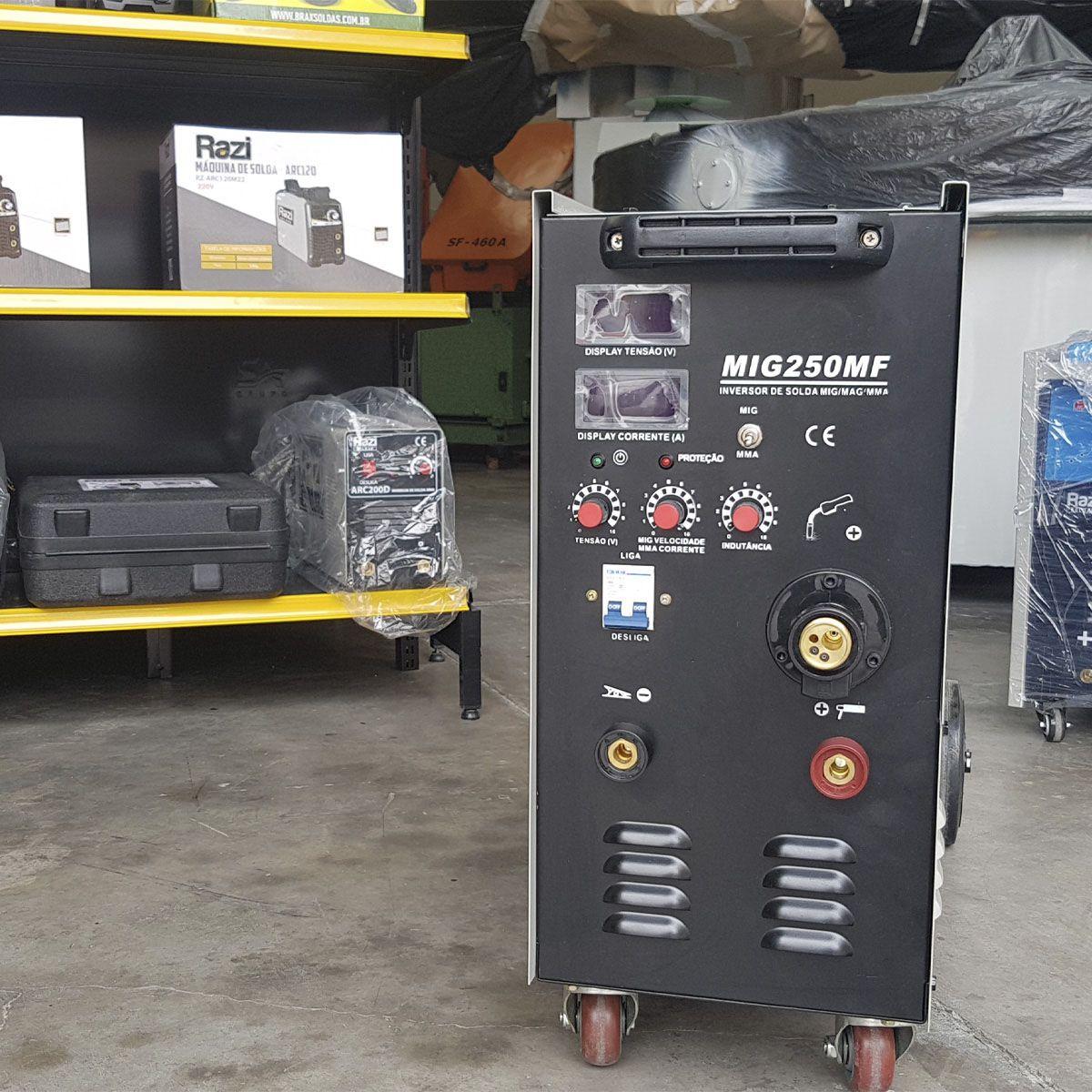 Inversora de Solda MIG 250MF Multifunção - Razi