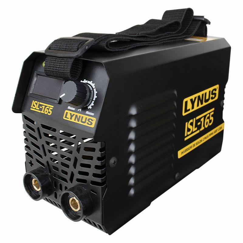 Inversora de Solda MMA IGBT 120A 220V ISL-165S - LYNUS